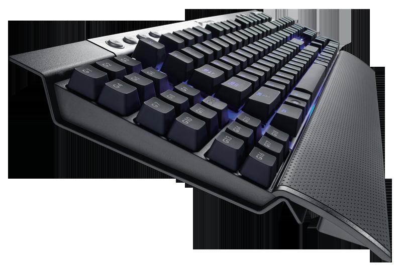 Ergonomic Keyboard example. Ergonomic Computer Desk Setup