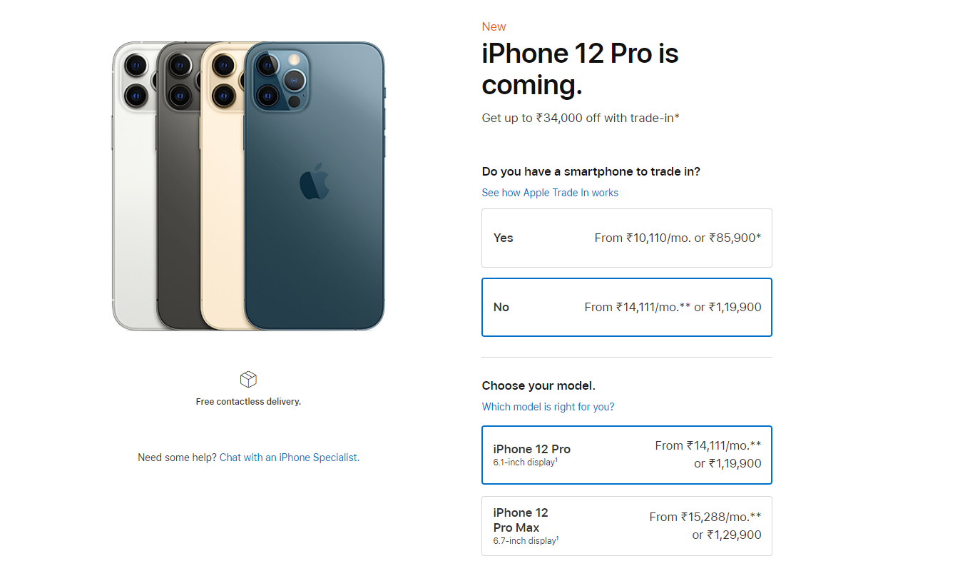 iphone 12 pro overpriced in india